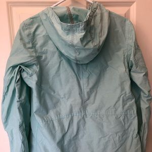 Columbia light zip up hooded jacket- size small